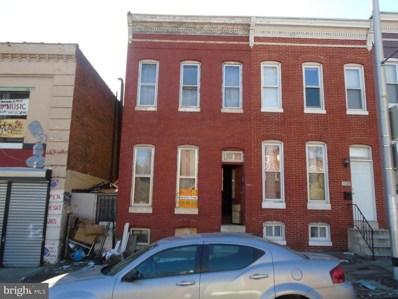 1707 Baltimore Street W, Baltimore, MD 21223 - MLS#: 1004932079