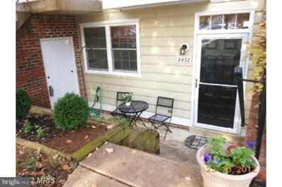 2432 Wentworth Drive, Crofton, MD 21114 - MLS#: 1004933469