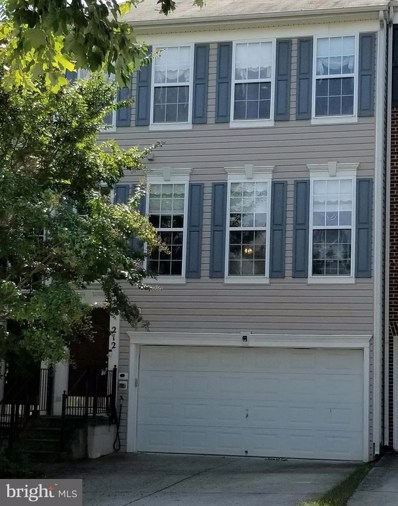 212 Sapling Hill Way, Gaithersburg, MD 20877 - MLS#: 1005008936