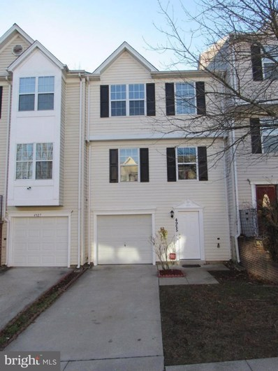 4925 Gully Court, Oxon Hill, MD 20745 - MLS#: 1005276081