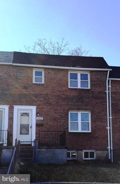 1422 N. Decker Avenue, Baltimore, MD 21213 - MLS#: 1005276729