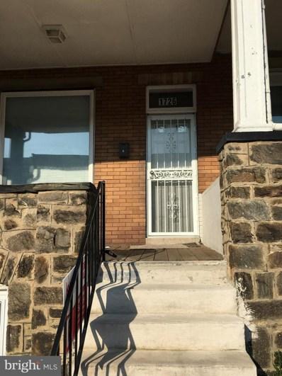 1726 Bentalou Street, Baltimore, MD 21216 - MLS#: 1005396048