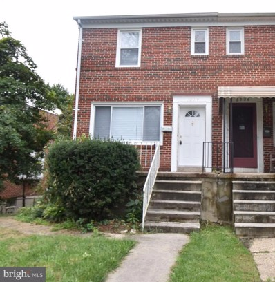 6224 Plymouth Road, Baltimore, MD 21214 - #: 1005412978
