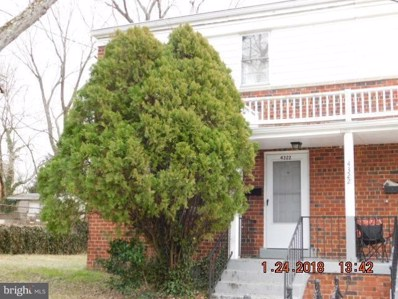 4322 23RD Parkway, Temple Hills, MD 20748 - MLS#: 1005437393