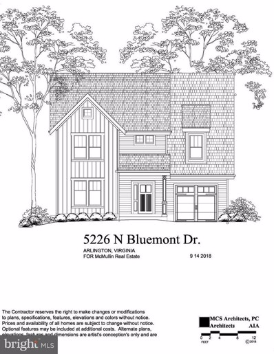 5226 Bluemont Drive, Arlington, VA 22203 - MLS#: 1005447954