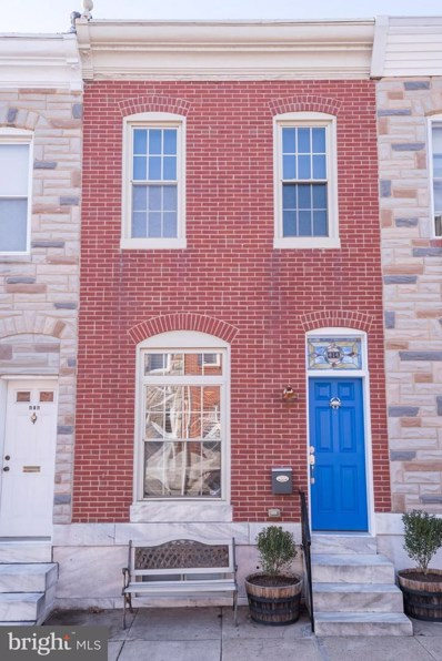 414 Robinson Street S, Baltimore, MD 21224 - MLS#: 1005467597