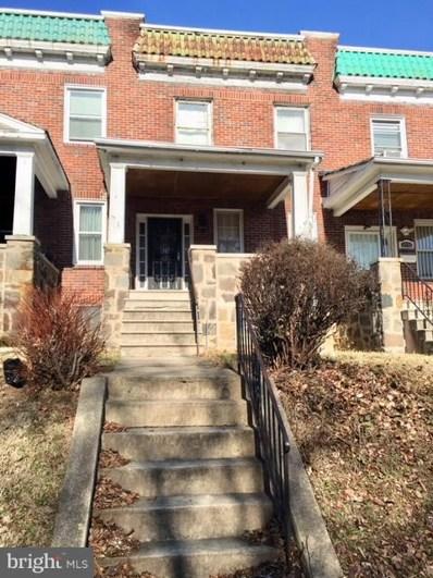 3334 Mondawmin Avenue, Baltimore, MD 21216 - MLS#: 1005560175