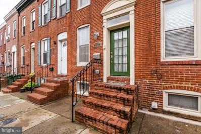 1722 Byrd Street, Baltimore, MD 21230 - #: 1005612896