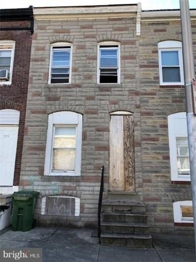 2227 Ramsay Street, Baltimore, MD 21223 - MLS#: 1005844679