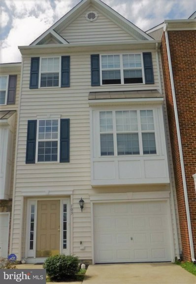 103 Oyster Bay Cove, Stafford, VA 22554 - MLS#: 1005892109