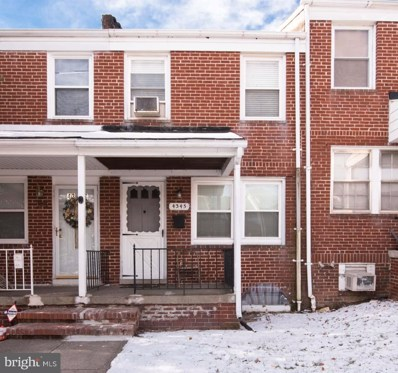 4345 Nicholas Avenue, Baltimore, MD 21206 - MLS#: 1005898105