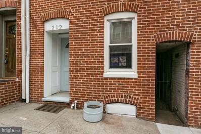 219 Castle Street S, Baltimore, MD 21231 - MLS#: 1005922139