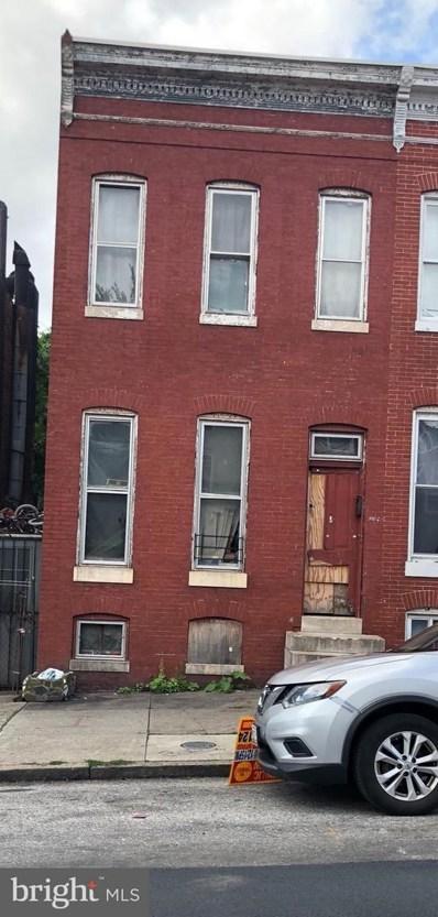 1707 Baltimore Street, Baltimore, MD 21223 - MLS#: 1005932979