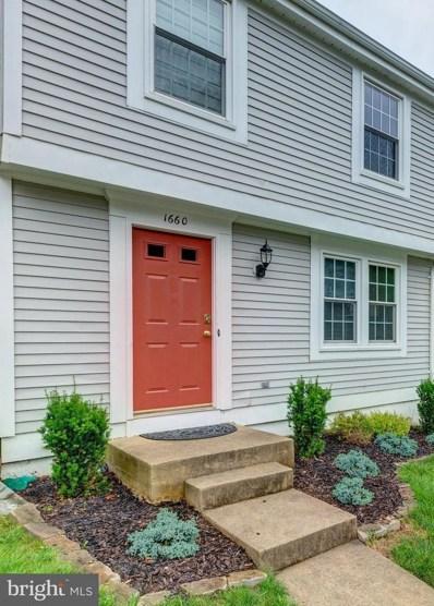 1660 Barnstead Drive, Reston, VA 20194 - MLS#: 1005942357