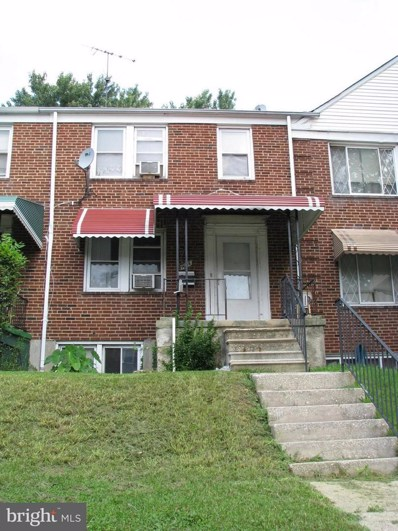 1606 Northgate Road, Baltimore, MD 21218 - MLS#: 1005950673