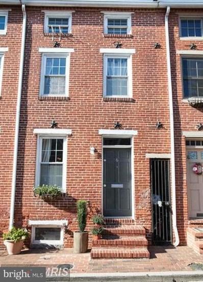 6 Hamburg Street E, Baltimore, MD 21230 - MLS#: 1005952181