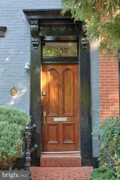 1217 T Street NW, Washington, DC 20009 - MLS#: 1006069182