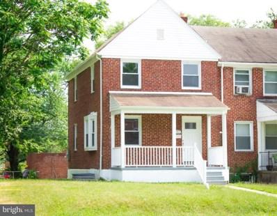 1247 E. Belvedere Avenue, Baltimore, MD 21239 - MLS#: 1006073356