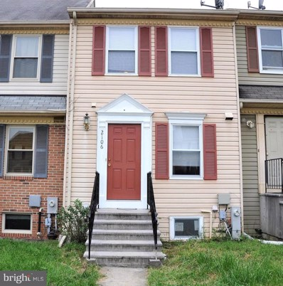 2106 Cedar Barn Way, Baltimore, MD 21244 - MLS#: 1006183680