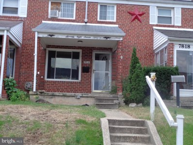 7816 Charlesmont Road, Baltimore, MD 21222 - #: 1006190394