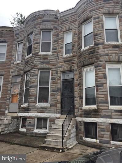 1905 Penrose Avenue, Baltimore, MD 21223 - #: 1006717770