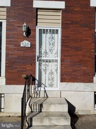 430 Kenwood Avenue, Baltimore, MD 21224 - MLS#: 1007129746