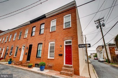 110 Madeira Street, Baltimore, MD 21231 - #: 1007142482