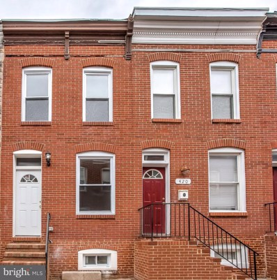 418 Bradford Street N, Baltimore, MD 21224 - #: 1007159332
