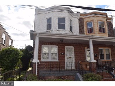 722 Wilson Street, Chester, PA 19013 - #: 1007278458