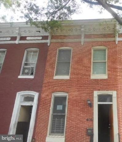 416 Federal Street, Baltimore, MD 21202 - MLS#: 1007368046