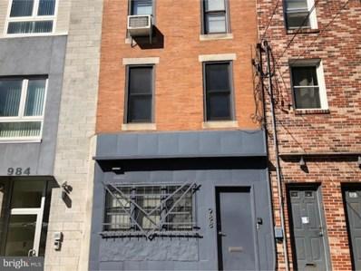 988 N 2ND Street UNIT 2, Philadelphia, PA 19123 - MLS#: 1007454630