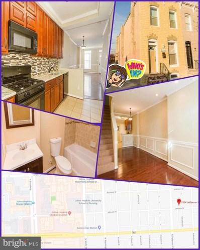 2304 Jefferson Street, Baltimore, MD 21205 - MLS#: 1007496480