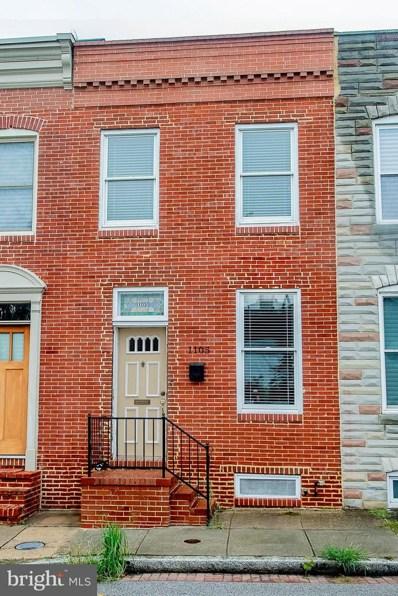 1105 Haubert Street, Baltimore, MD 21230 - #: 1007522840
