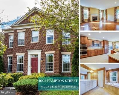 1002 Hampton Street, Fredericksburg, VA 22401 - #: 1007524412