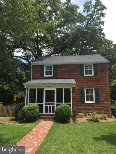 1617 Crestwood Drive, Alexandria, VA 22302 - #: 1007540810