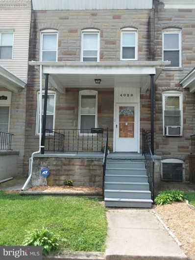 4029 Belwood Avenue, Baltimore, MD 21206 - #: 1007540874