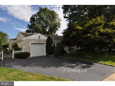 8 Winnipeg Lane, Trenton, NJ 08648 - MLS#: 1007543348