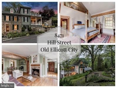 8471 Hill Street, Ellicott City, MD 21043 - MLS#: 1007899004