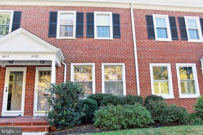 4106 36TH Street S, Arlington, VA 22206 - #: 1007938464
