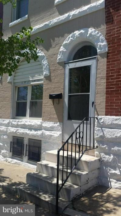 1816 Rutland Avenue, Baltimore, MD 21213 - #: 1007957328