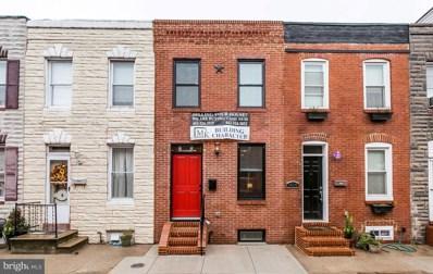 1406 Cooksie Street, Baltimore, MD 21230 - MLS#: 1008180136