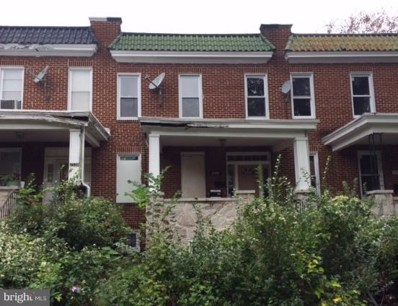 2536 Park Heights Terrace, Baltimore, MD 21215 - #: 1008192458