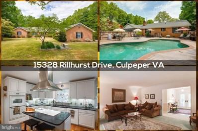 15328 Rillhurst Drive, Culpeper, VA 22701 - #: 1008342522