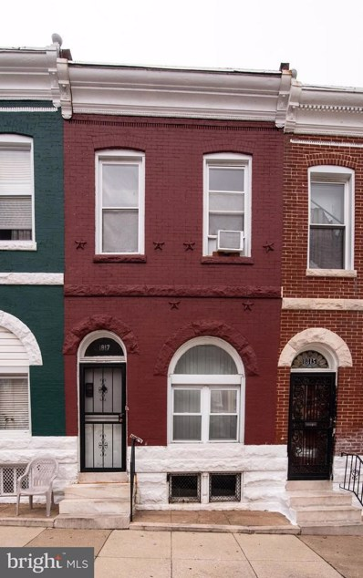 1817 Rutland Avenue, Baltimore, MD 21213 - MLS#: 1008342848