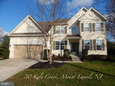 20 Kyle Court, Mount Laurel, NJ 08054 - #: 1008343770
