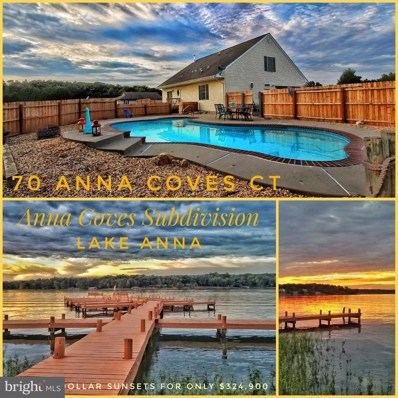 70 Anna Coves Court, Mineral, VA 23117 - MLS#: 1008343902