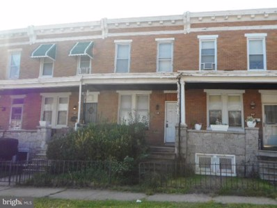2215 Saratoga Street W, Baltimore, MD 21223 - #: 1008349274