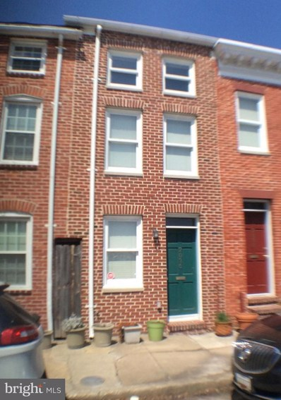 2036 Fountain Street, Baltimore, MD 21231 - MLS#: 1008353624