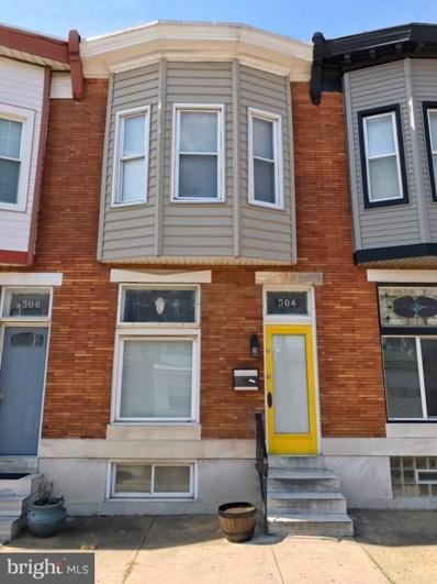 504 Newkirk Street S, Baltimore, MD 21224 - #: 1008356828