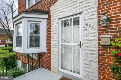 1600 Winford Road, Baltimore, MD 21239 - MLS#: 1008357290